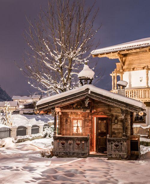Cozy garden hut - Landhaus Platzer