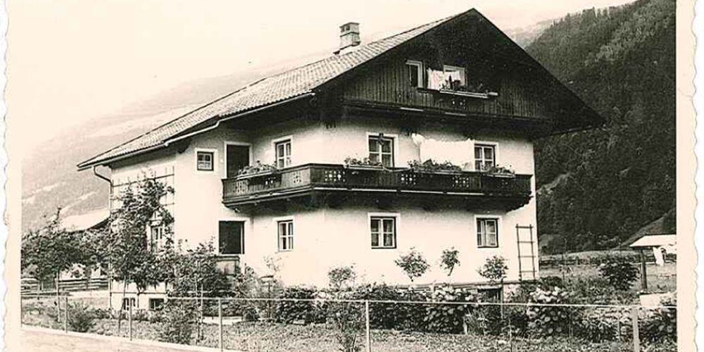 The start of providing accommodations in 1958 - Landhaus Platzer