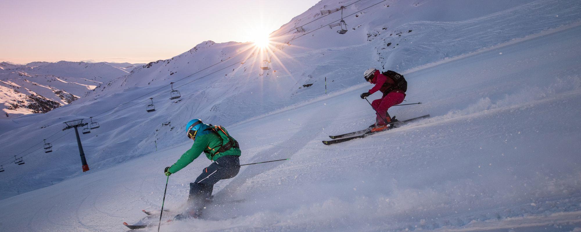 Skifahren in der Zillertal Arena | © Zillertal Arena / Johannes Sautner