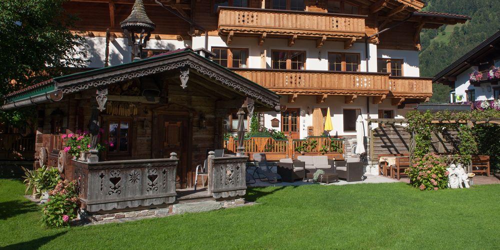 Gemütlicher Garten zum Sonne tanken - Landhaus Platzer